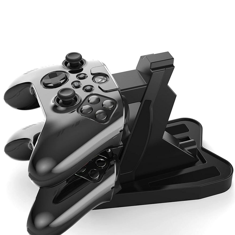 For XBOX S Game Controller Charger Dual USB Fast Charging Dock Station Cradle Holder For Sony XBOX S