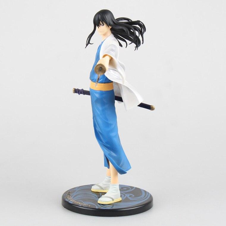 Animé silver soul gintama kotaro katsura 21cm pvc, colección de figuras de acción, modelo de juguete de muñeca