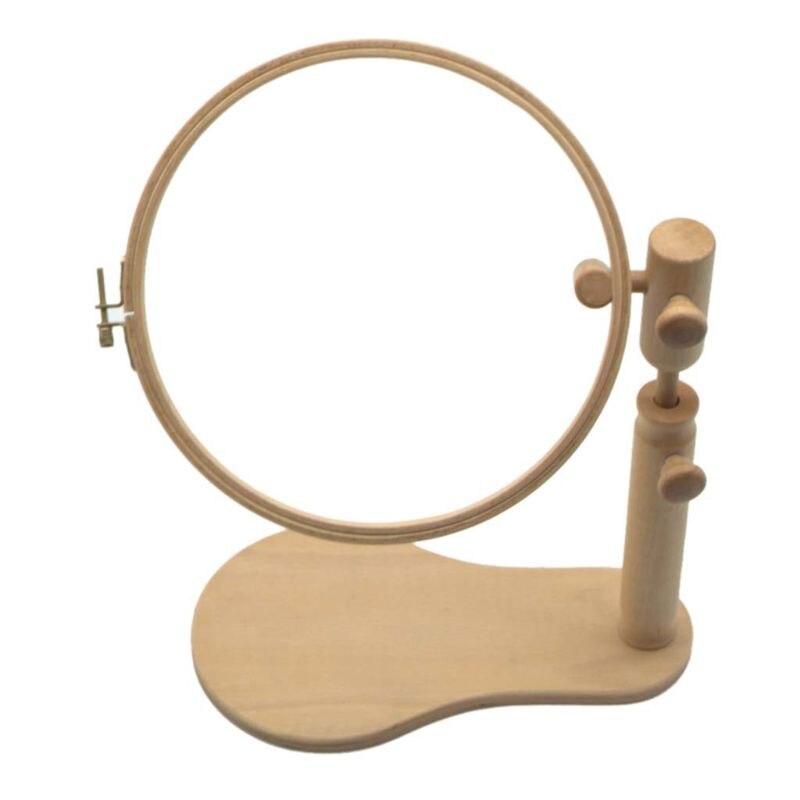 Bordado de madera aro Stand punto de cruz costura anillo marco costura ajustable