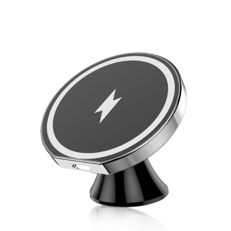 Wireless Mobile Phone Power Charger Magsafing Charger Phone Holder 15W Fast Charging Charger For IPhone12 Pro Max Phone Holder