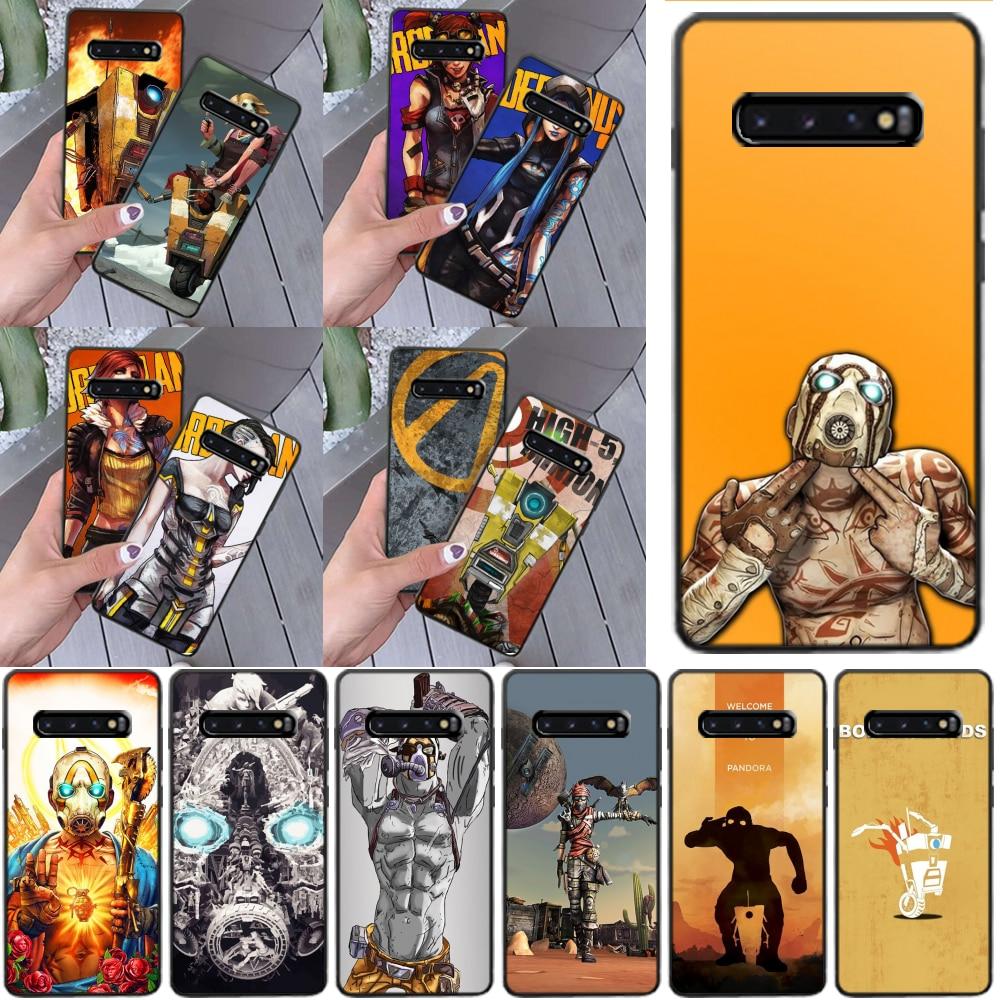 OFFeier Hot Video game Borderlands Phone Case for Samsung S9 plus S5 S6 edge plus S7 edge S8 plus S10 E S10 plus