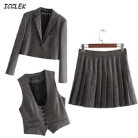 womens blazers suits sweet jackets sets mujer elegant coats suit femme cropped office formal ladies blazer casual new outerwear