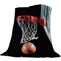 throw blanket for couch bed sofa chairluxury decorative flannel fleece microfiber throw blanketsflaming basketball king size
