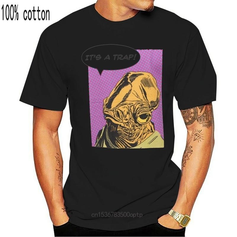 -É uma armadilha-masculino-camiseta-heather grey-tamanhos s-xxl adultos camiseta casual