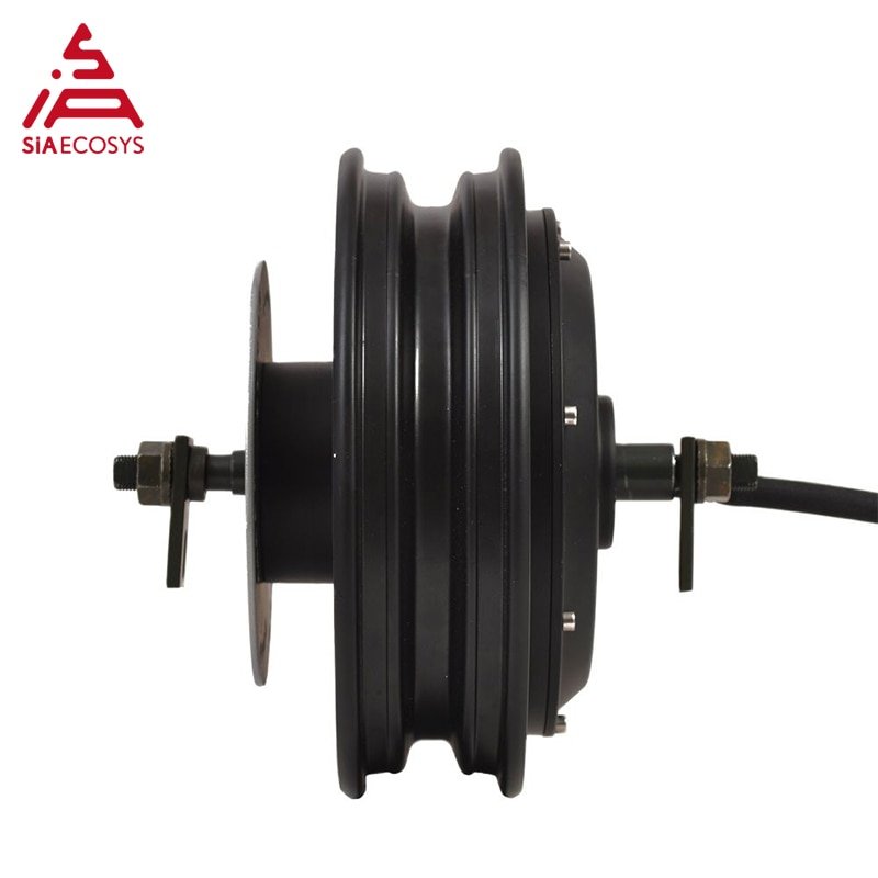 QSMOTOR 10x2.15inch 3000W 60V/72V  80kph Hub Motor with QSKLS7230H controller and kits for Electric Scooter/motorcycle enlarge