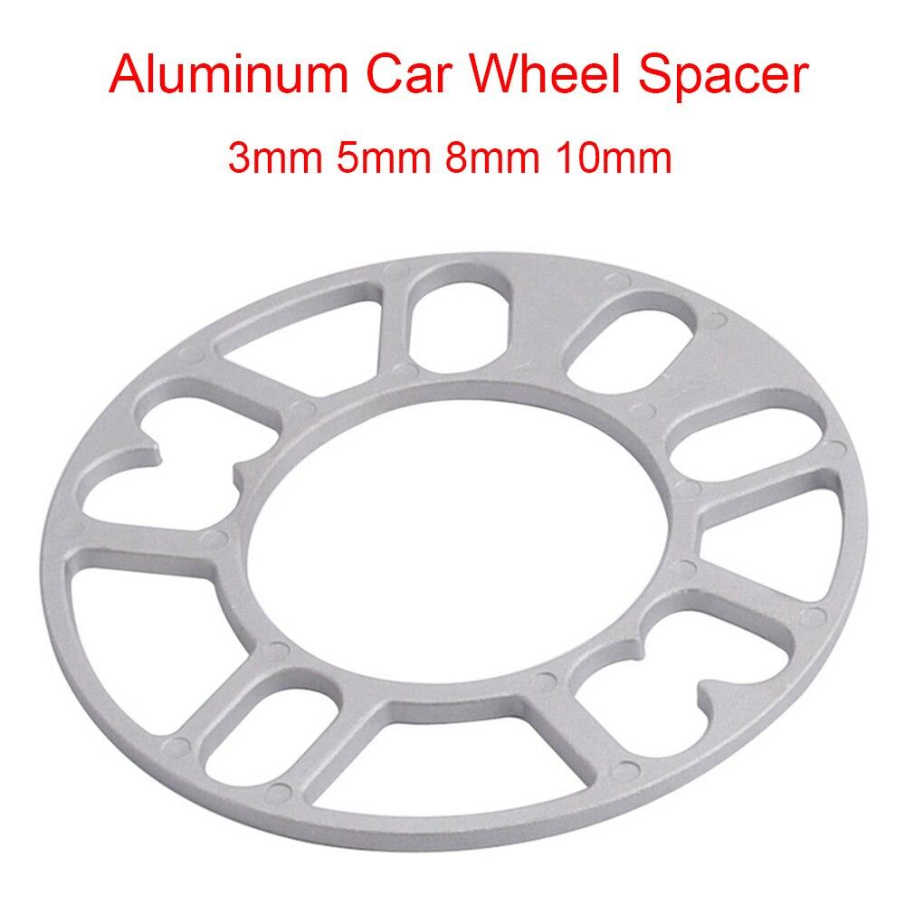 SPEWPRP Универсальный Алюминий колеса разделительные прокладки пластина 3 мм 5 мм 8 мм 10 мм 4x100 4x114,3 5x100 5x108 5x114,3 5x120