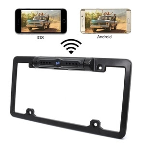 Parking Lines on/off Mirror Normal Image Night Vision Full Frame License Plate Camera WiFi Backup Camera Android