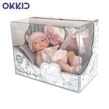 10 Inch Alive Bebe Doll Toddler Vinyl Body Reborn Baby Doll Bonecas Girls Princess Playmate Dolls Toy Xmas Birthday Gifts