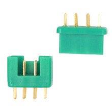 10 paire/lot champ daéromodélisme RC MPX 24K broche plaquée or 40Amp connecteur accessoires pièces 20% off