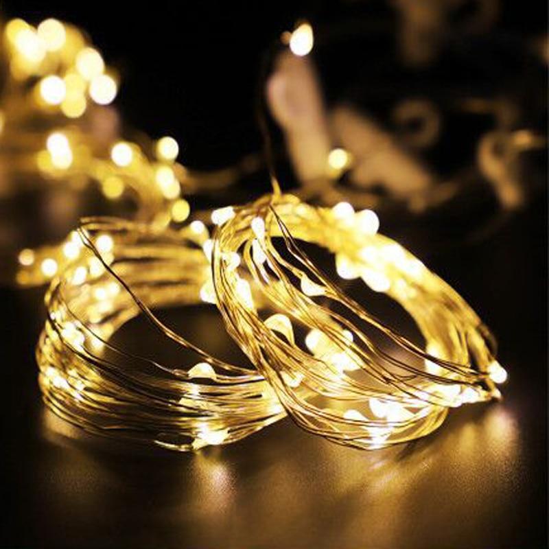 Luz de noche LED alimentada por USB luces de hadas LED Garland decoración del hogar dormitorio lámpara LED Oficina LED lámpara de noche novedosa luz regalo para niños