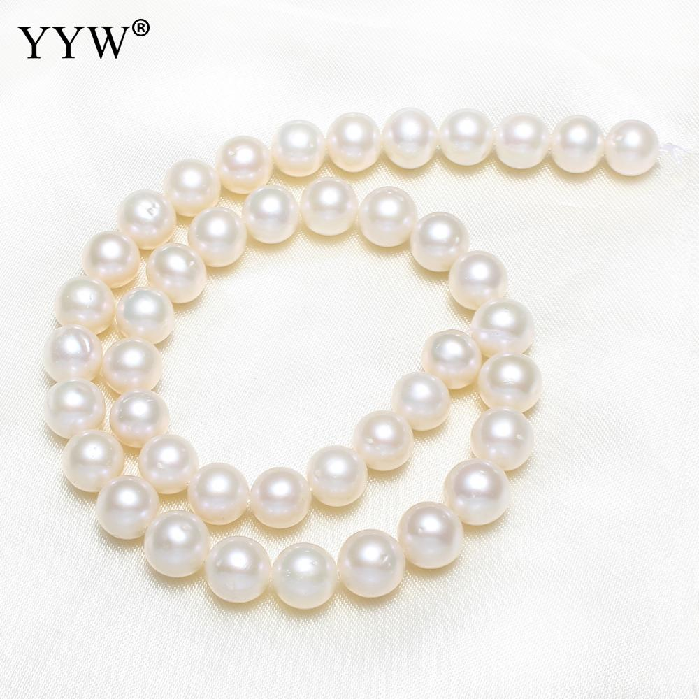 Pink Grade A Cultured Baroque Freshwater Pearl Beads 14.5Inch/Strand for DIY Bracelet Necklace Jewel