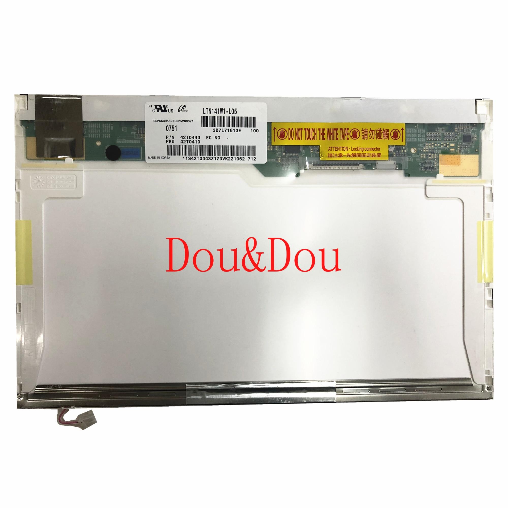 LTN141W1-L05 B141EW04 LTN141AT07 LTN141AT13 LTN141W3-L01 N141I3-L02 LP141WX3-TLN1 LP141WX1-TLB4 LCD شاشة 1280*800 LVDS 30 دبوس