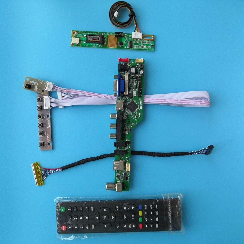 لوحة أم مع لوحة تحكم B121EW01 V1 مصابيح 1 12.1 بوصة وحدة AV VGA وحدة إشارة رقمية للتلفاز 20pin 1280X800