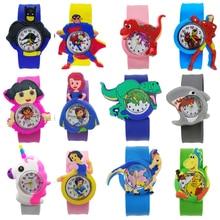9 Kinds of Animal Team Pony Watch for Children Kids Watches Boys Girls Student Clock Child Quartz Wa