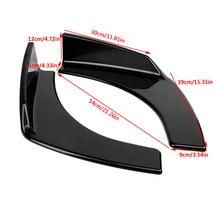Universal Car Front Bumper Deflector Spoiler Splitter Lip Diffuser Protection Lip For Honda For Civic For Benz For Skoda For BMW