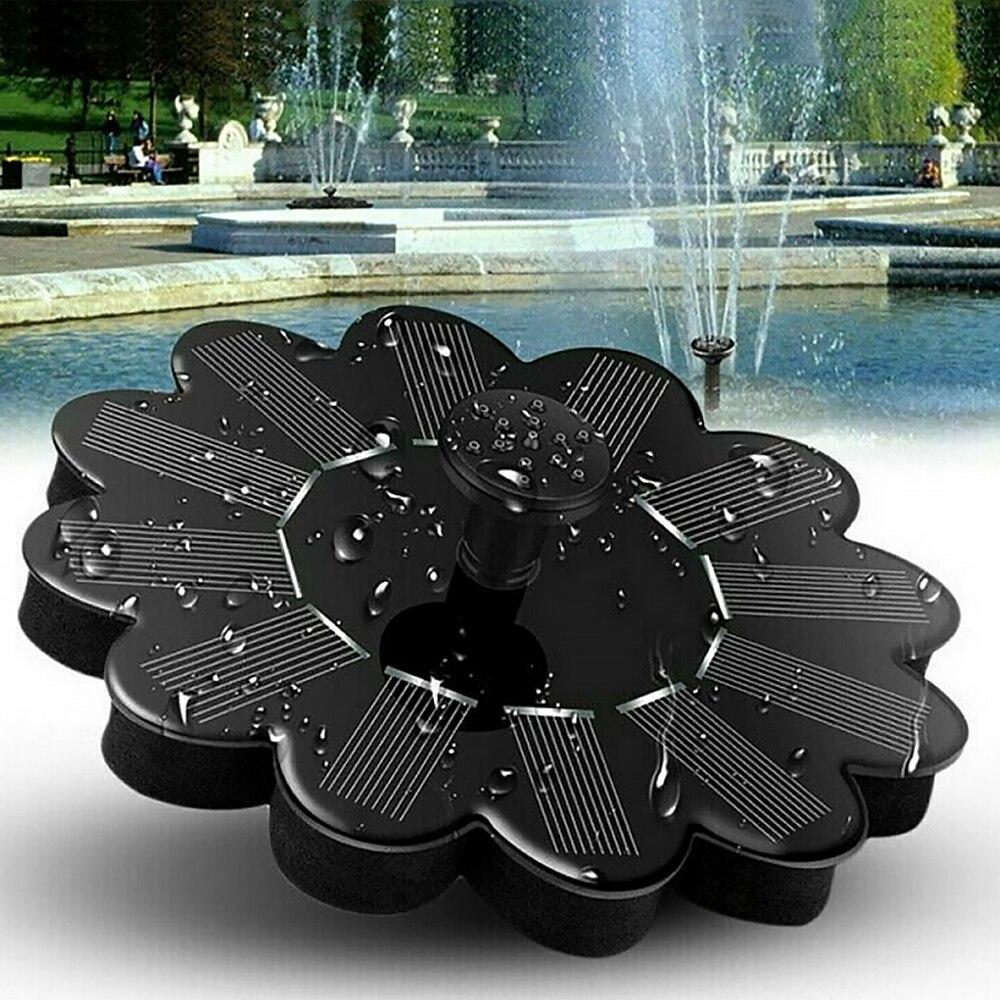 1 Fuente de energía Solar para exteriores piscina lago estanque Mini bomba de agua acuario jardín decoración suministros