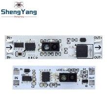 Módulo de comutação do sensor da mão da varredura do sensor da distância curta 36w 3a tensão constante para a casa inteligente automática compatível XK GK 4010A Circuitos integrados    -