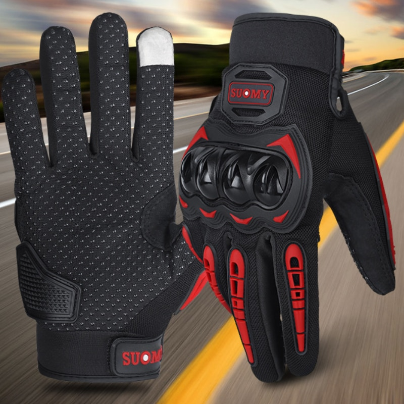 Full Finger Anti-drop Off-road Cycling Gloves Bicycle Equipment Riding Outdoor Sports Fitness Touch Screen Bike Accessories