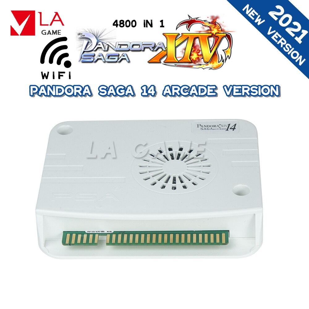 Multigame Arcade Pandora Box Saga 14 Tekken 6 Pandora Box Wifi 4800 In 1 Arcade Box Support 4 Players Games Arcade 2 Players