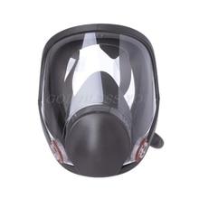 Kit de respirateur de masque facial complet peinture pulvérisation poussière Silicone masque à gaz livraison directe