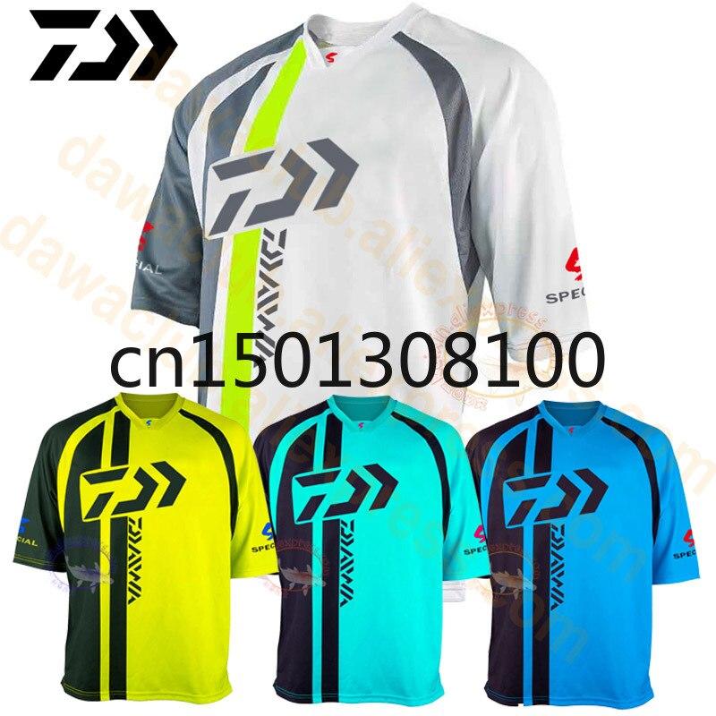 Daiwa 2020, camiseta de pesca Anti-UV transpirable de secado rápido, ropa deportiva para exterior, camiseta para mujer para correr y senderismo, ropa de pesca