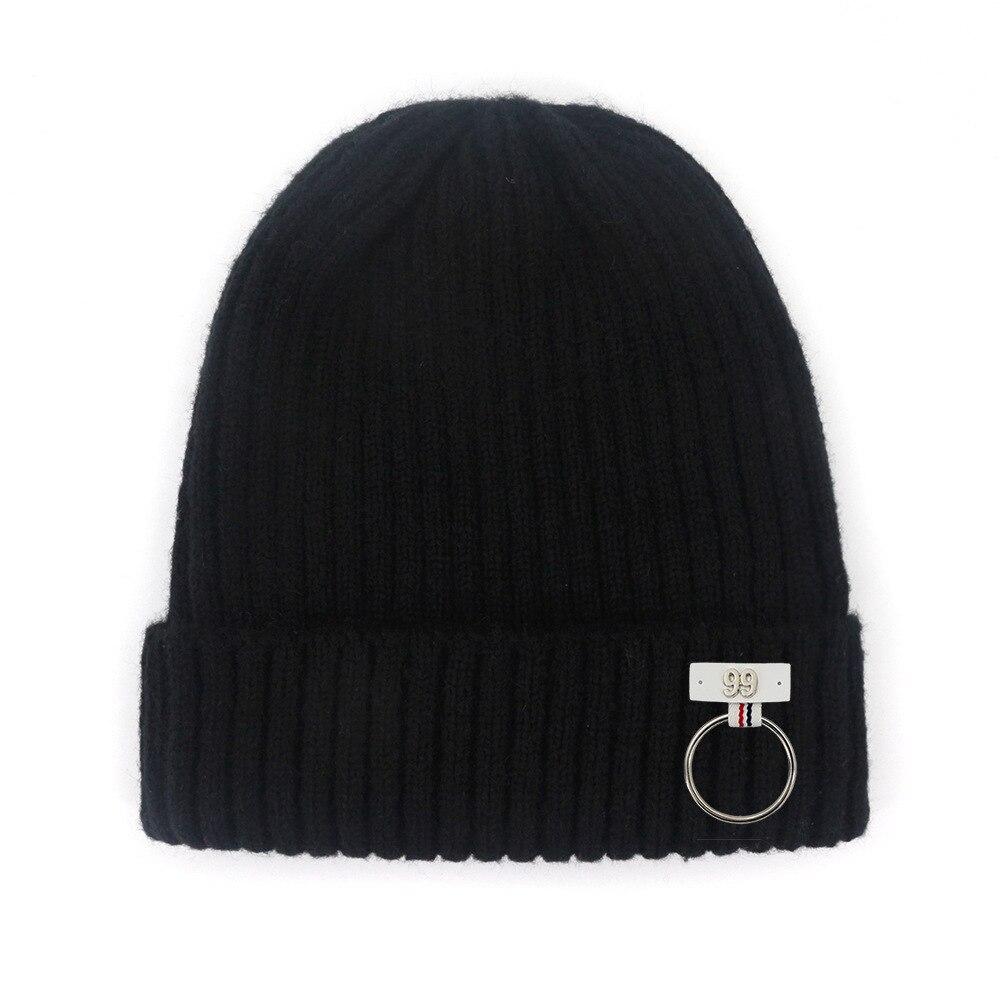 Мужская шапка, зимняя стандартная шапка, простая трикотажная шапка в рубчик с манжетами, шапочка, мягкие повседневные облегающие шапки, шап...