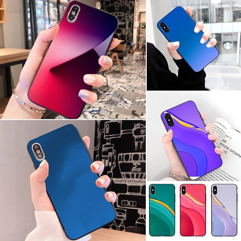 Papier peint dorigine lave coque de téléphone pour Iphone 11 Pro Xs Max X 8 7 6S Plus 5 Se 11 Xr CaseSoft coque arrière en Tpu