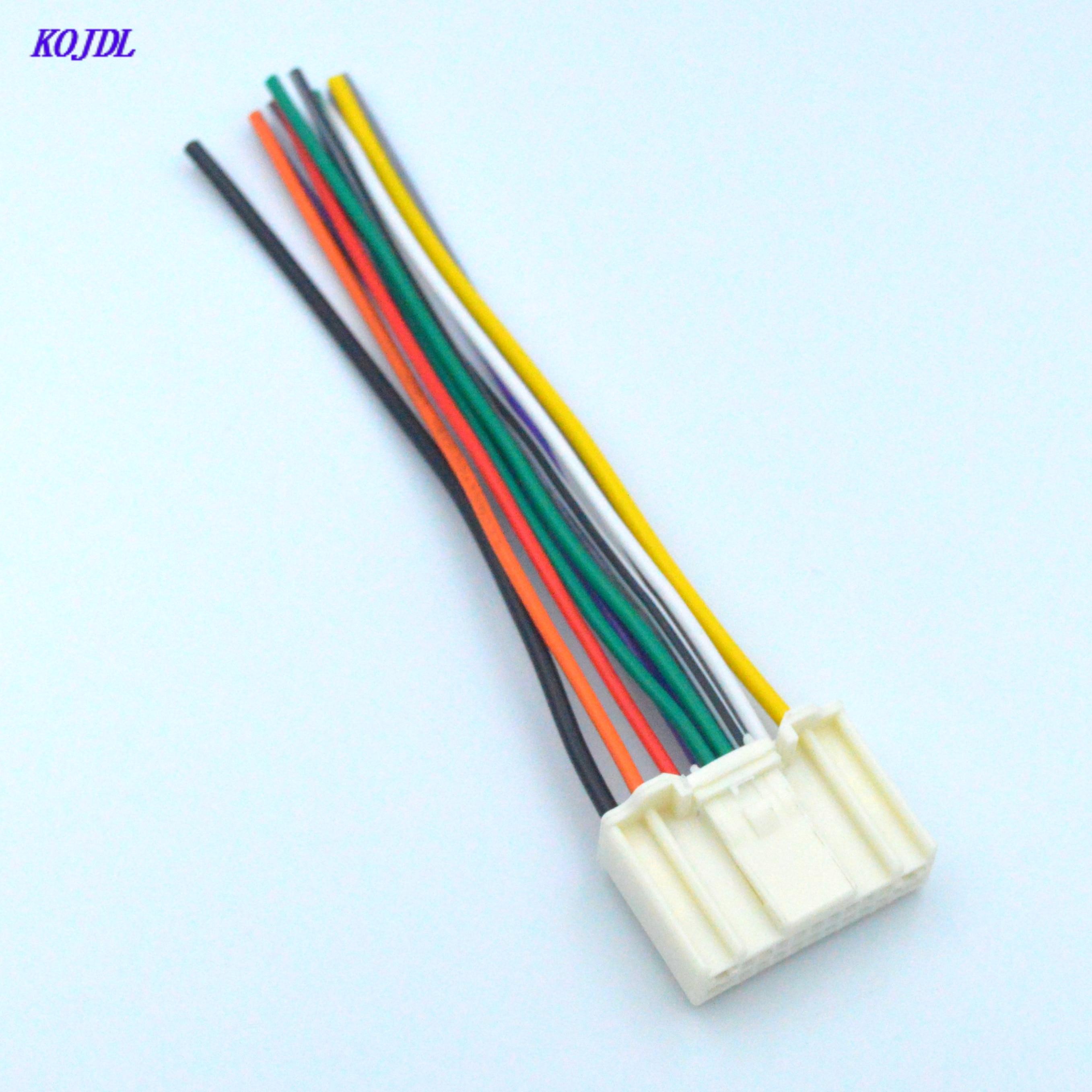 Автомобильный радиоприемник ISO стерео аудио жгут проводов адаптер разъем для CD проигрывателя для Nissan Subaru Infiniti OEM завод радио