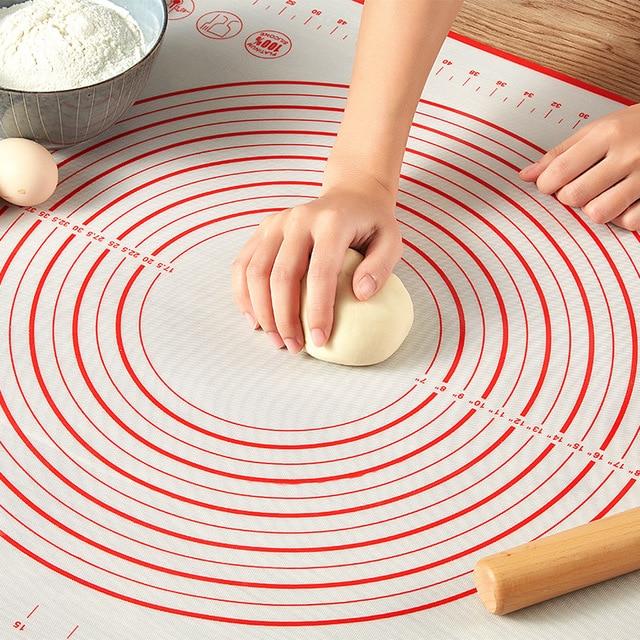 6040CM Big Food Grade  Non-stick Baking  Silicone Mat Kneading Pad