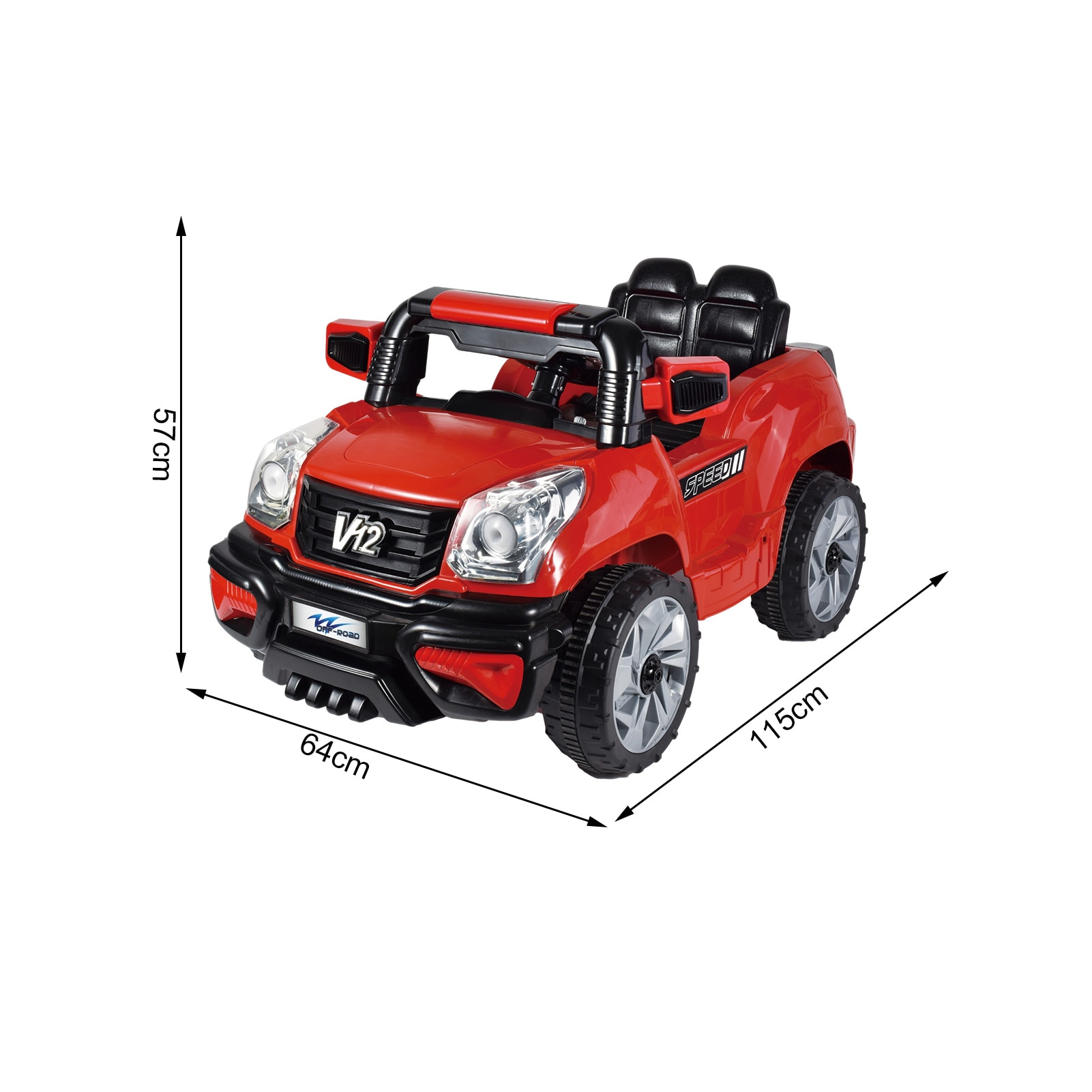 6V RC Car Toy with Light Music Battery Powered Spring Auto Toy enlarge