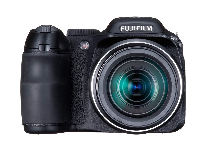 Used, Fujifilm FinePix S2000HD 10MP Digital Camera with 15x Optical Dual Image Stabilized Zoom