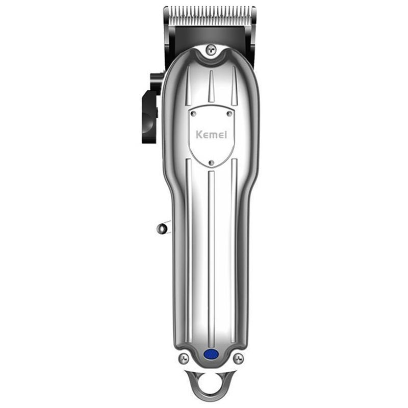 Original kemei adjustable 10W hair clipper rechargeable hair trimmer electric hair cutting machine with 1500mAh battery enlarge