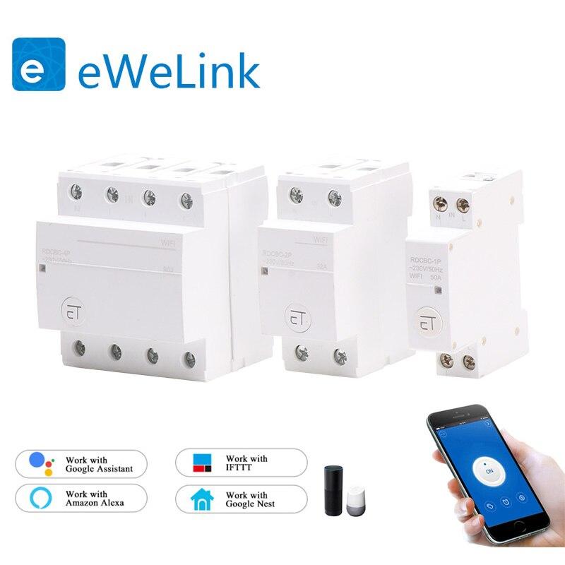Interruptor de Controle Remoto sem Limite de Distância Compatível com Alexa e Google Casa para Casa Interruptor do Temporizador de Wifi Inteligente