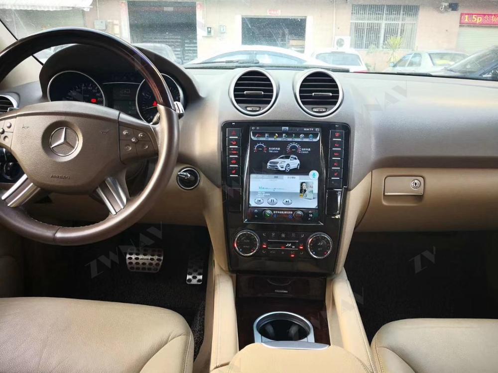 car radio For Mercedes Benz ML W164 W300 ML350 ML450 ML500 GL Tesla Android Car Radio Play GPS Navigation car radio bluetooth radio killer andrea t mendoza play