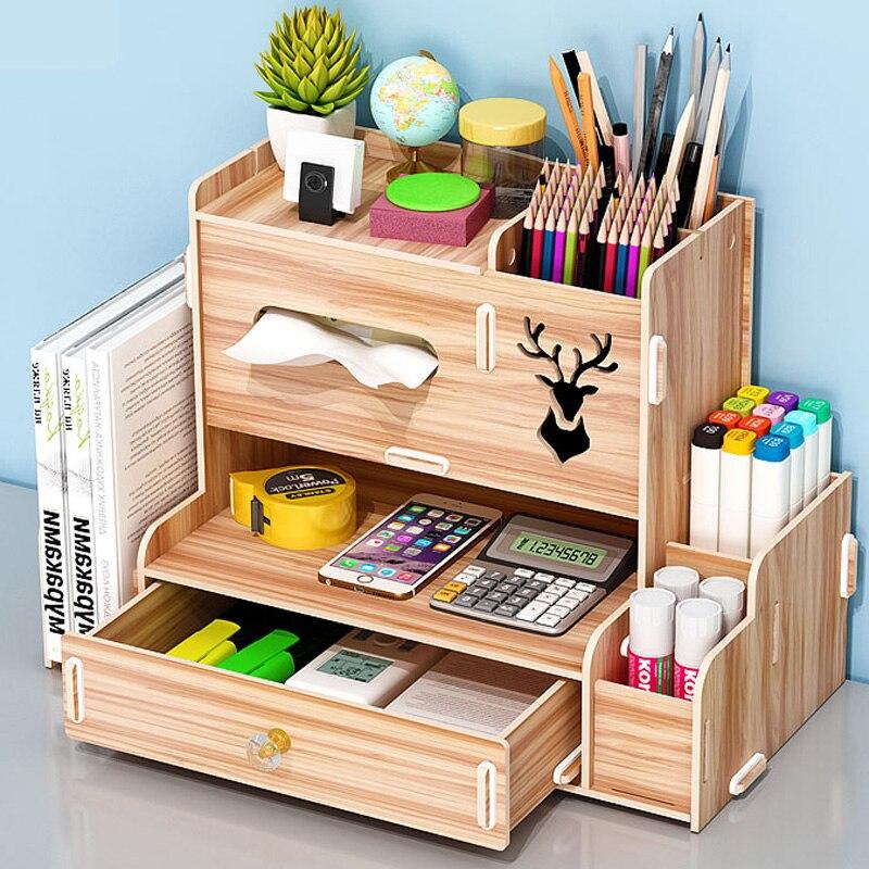 Ящик для хранения ручек, простой современный креативный держатель для ручек, милый изящный Наклонный штекер для девочек