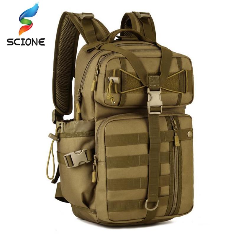 Hommes en plein air 3P tactique sac à dos 900D étanche armée épaule militaire chasse camping femmes multi-fonctionnel Molle sac de sport