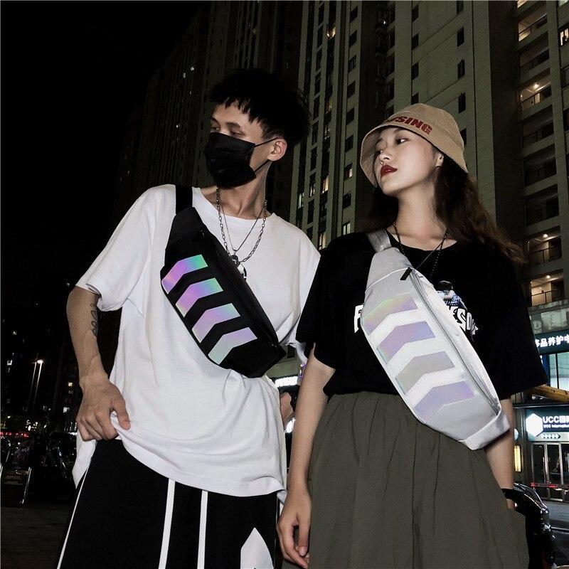 Модная поясная сумка YoReAi для женщин, забавные женские сумки на ремне, роскошный мессенджер, бананка, нагрудная Сумочка для пар