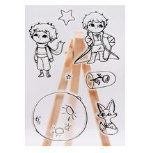 Prince planète dessin animé Silicone sceau timbre bricolage Scrapbooking Photo Album décor