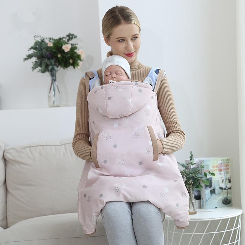 слинг для новорожденных слинг переноска переноска слинг для новорожденных слинг Зимний детский чехол-кенгуру на лямках; уличная утепленна...
