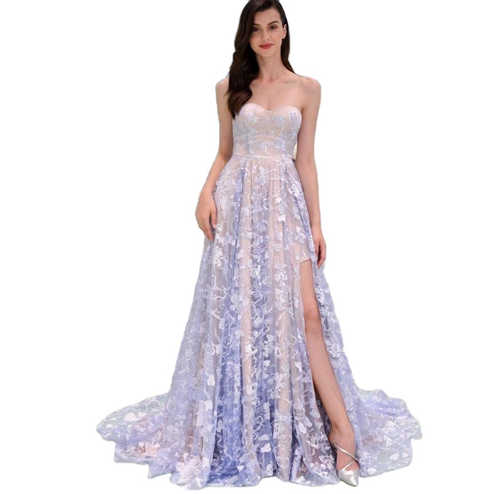 Womens Dresses Wedding Party Off Shoulder Elegant Woman Formal Maxi Evening Dresses Women Lady