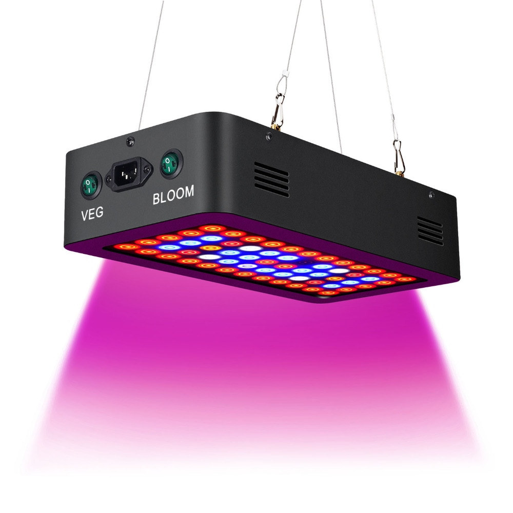Double Switch TB-600W Full Spectrum LED grow light with Veg/Bloom modes for Indoor Greenhouse grow tent plants grow led enlarge