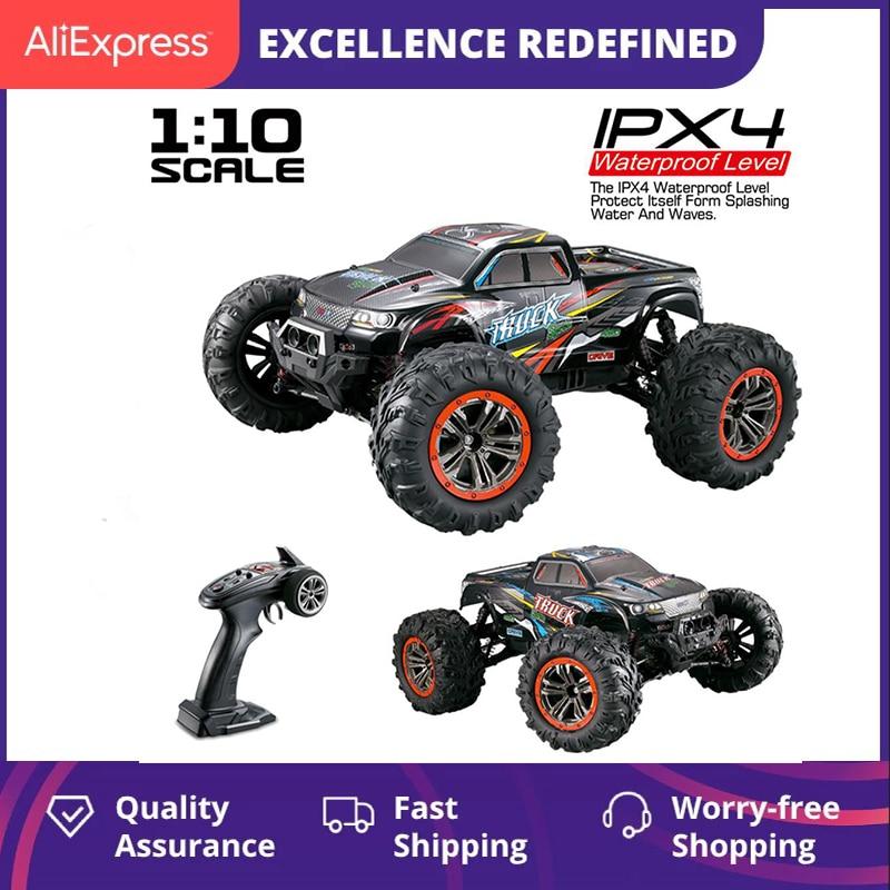 XINLEHONG-سيارة سباق للأطفال يتم التحكم فيها عن بعد ، لعبة إلكترونية للأطفال ، مقياس 1:10 ، مقياس 9125 ، شاحنة فوق صوتية للطرق الوعرة ، 2.4G ، 1/10