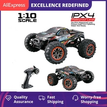 XINLEHONG TOYS RC Car 9125 2.4G 1:10 1/10 Scale Racing Cars Car Supersonic Truck Off-Road Vehicle El