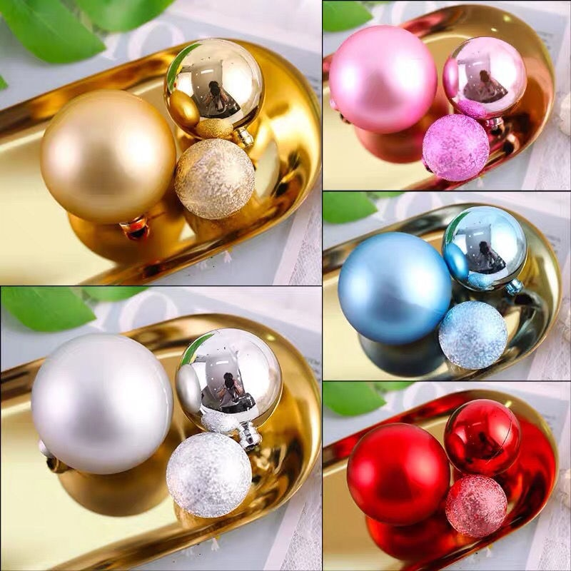 3pcs/lot Gold Silver Wishing Ball Cake Topper Birthday Cup Decoration Baby Shower Kids Party Wedding Favor Supplies