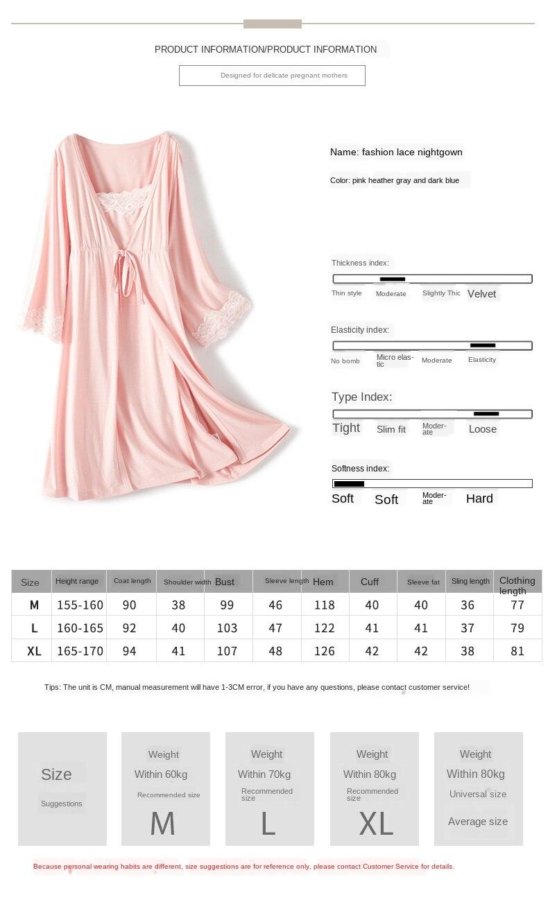 2020 maternity nightwear women nursing pyjama nursing sleepwear  dress women pink for pregnant pregnancy nightwear drop shipping enlarge