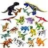 Jurassic World – Raptor Brutal dinosaure fossile blocs de construction briques compatibles jouet Dino pour enfants