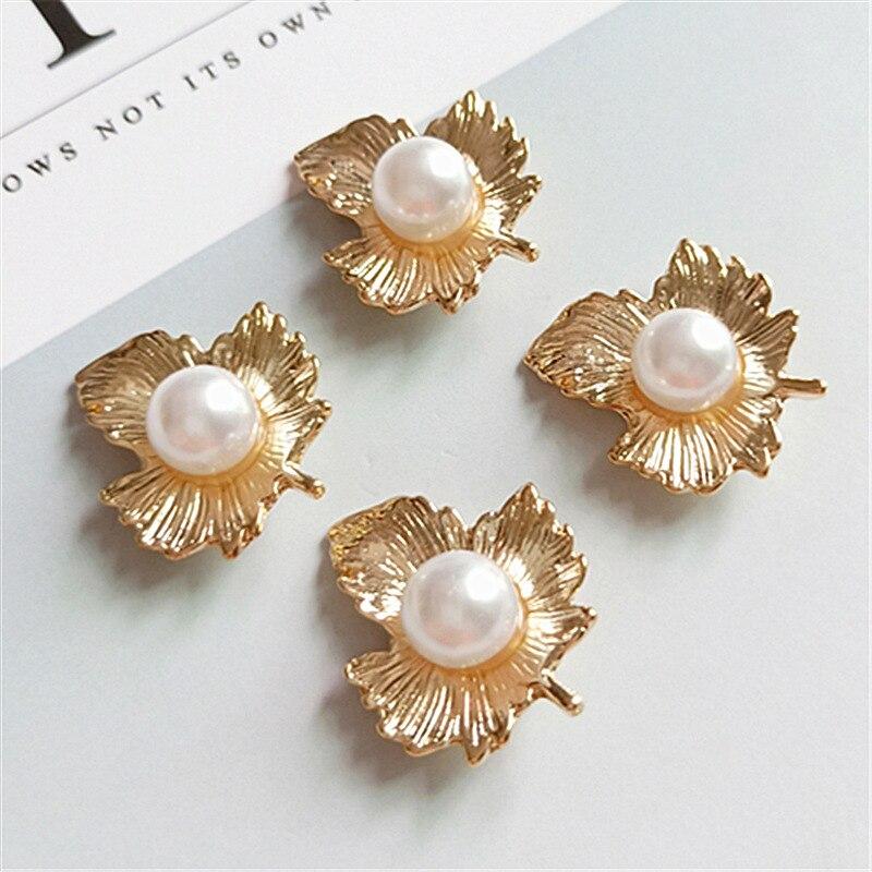 10 uds/lote de diamantes de imitación botón colgante, pendientes, collar botones ropa sombreros mujeres DIY accesorios hebillas de zapato