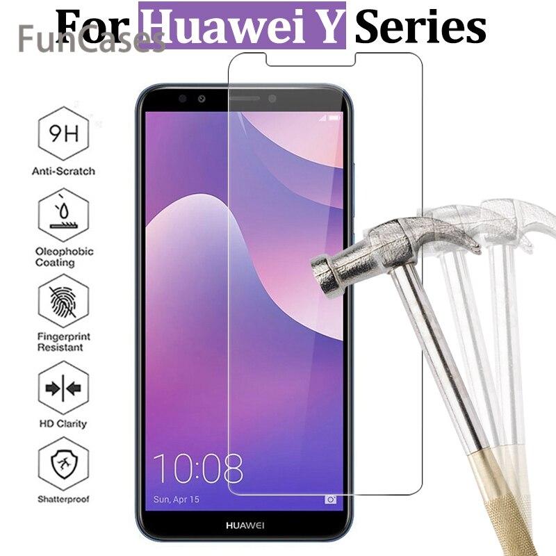 Vidrio templado para Huawei Y6 Prime 2018 Y9 Y7 Y5 Prime 2018...