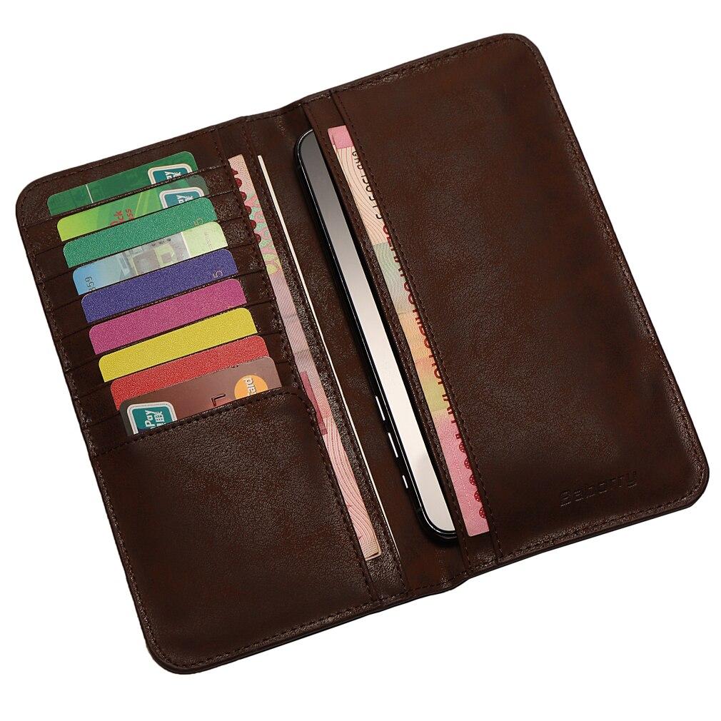 Top Men's Long Money Wallet Multi Men Wallets Business Brand Card Holder Coin Purse Men Handbag Clut