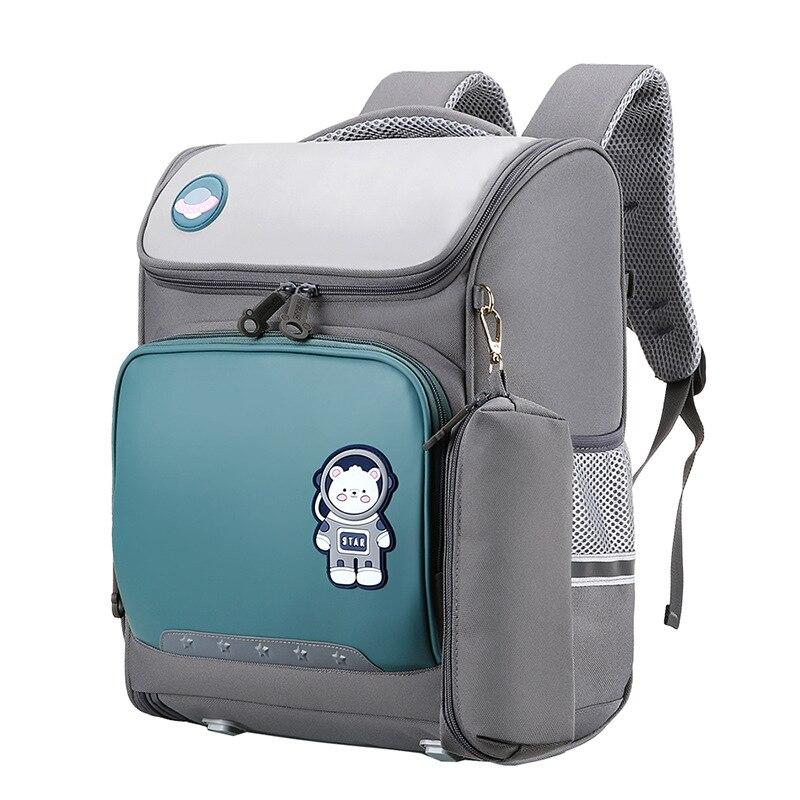 Kids backpack Primary School Bags For Boys Girls orthopedic school Backpacks Waterproof Schoolbag kids Book Bag mochila infantil